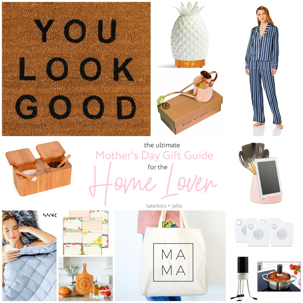 The ULTIMATE Mother's Day Gift Guide for mom. Know a mom who loves to cook, create and make her home lovely? This gift guide has ALL of the things she will love!