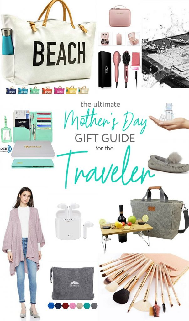 The ULTIMATE Mother's Day Gift Guide for the Traveler! For the mom who loves getting outside and exploring, this gift guide has all kinds of items that she will love!
