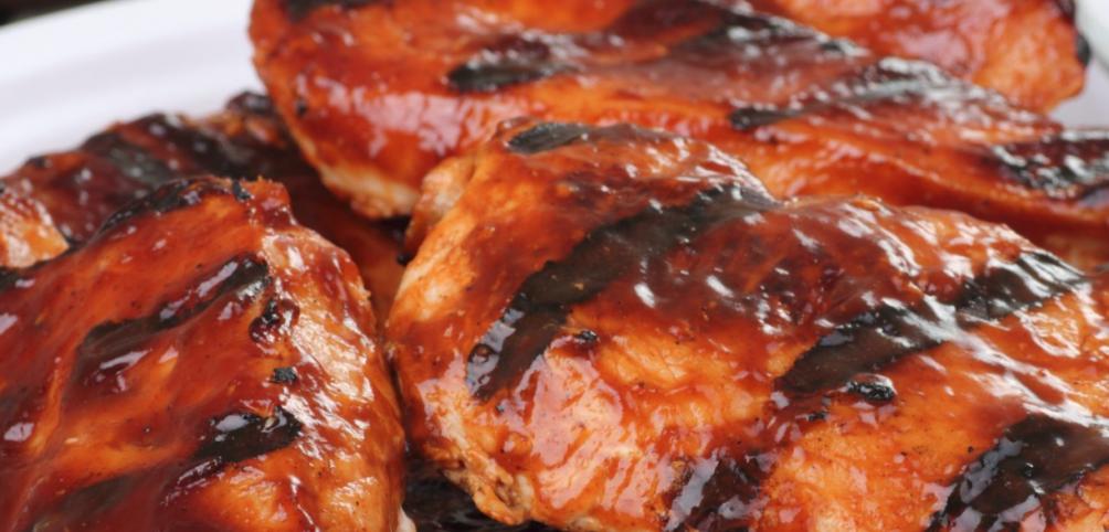 6 Weight Watchers Smart Points Easy BBQ Chicken @ Slenderberry