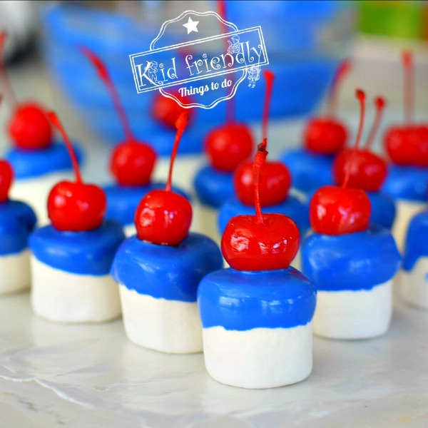 Firecracker Chocolate Marshmallows @ Kid Friendly Things To Do