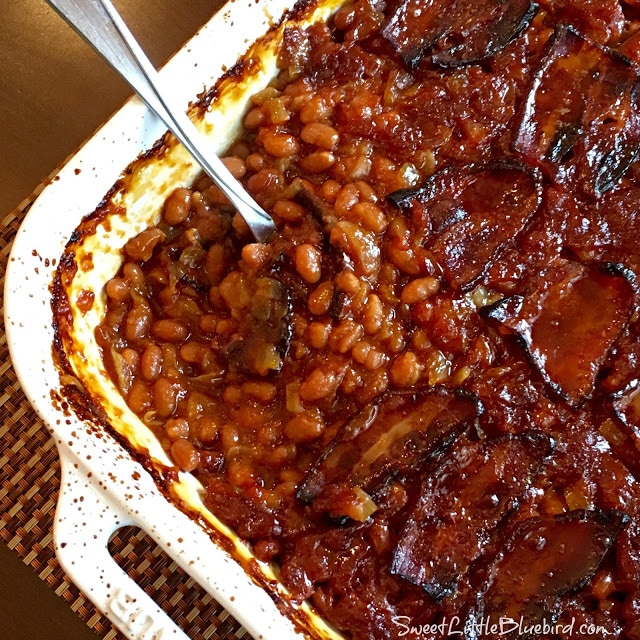 Anastasia's Best Ever Baked Beans @ Sweet Litle Bluebird