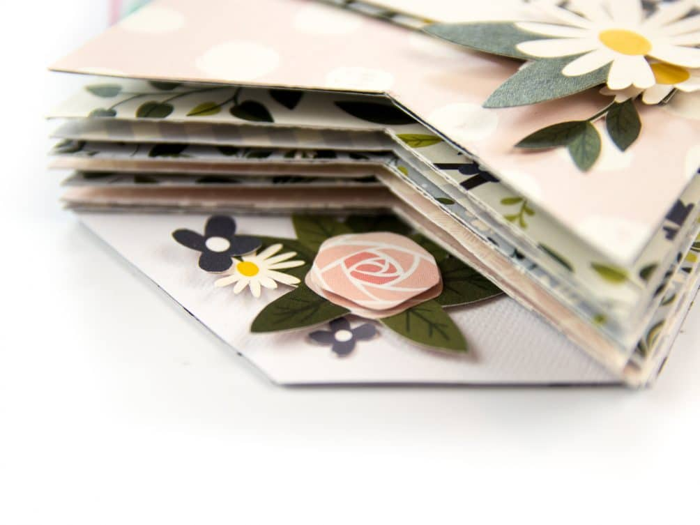 How to make a paper housewarming mini book for guests to sign.