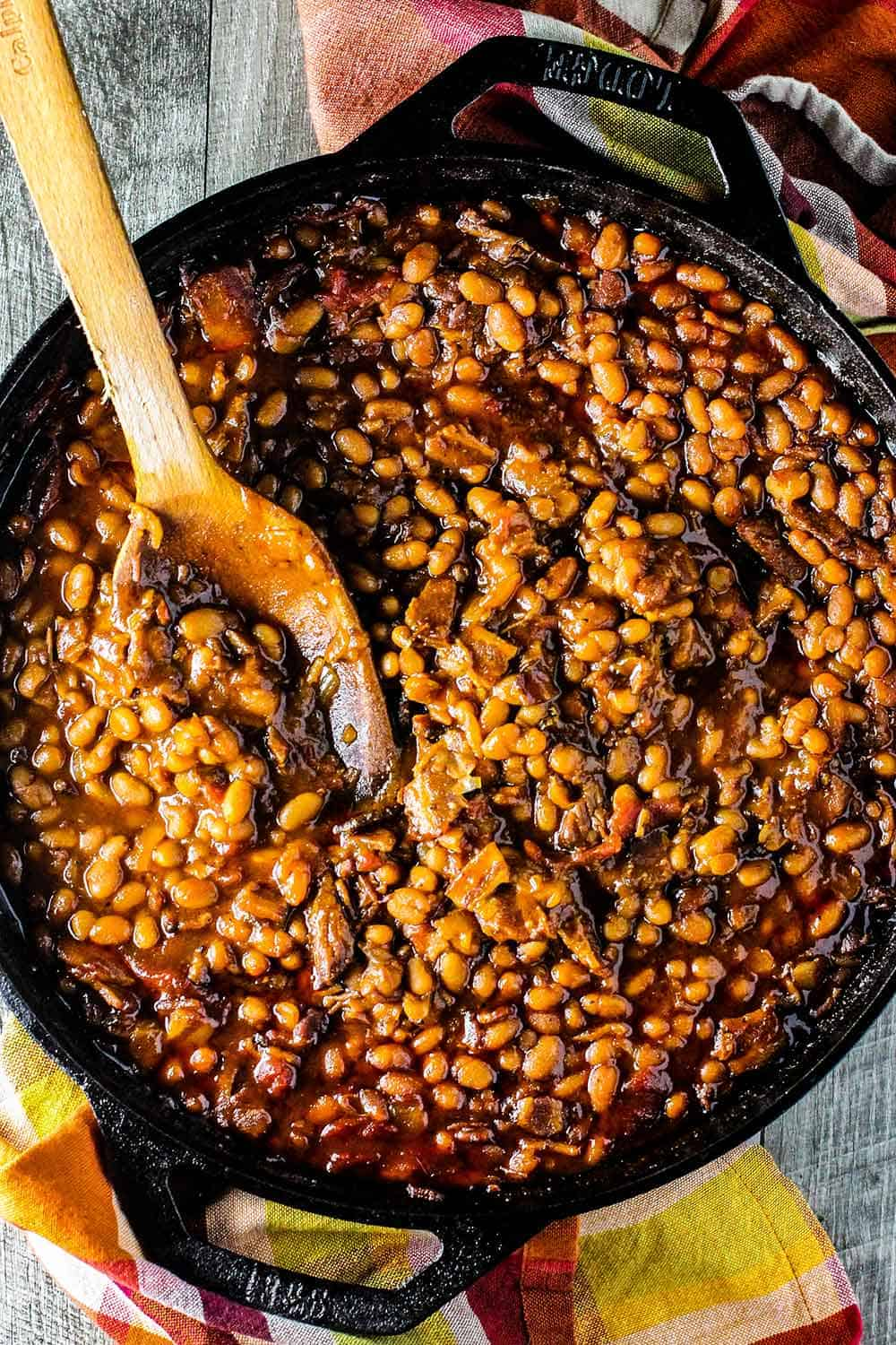 Southern Baked Beans @ How To Feed a Loon