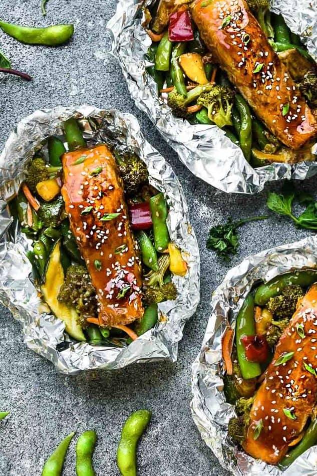 Teriyaki Salmon Foil Packets @ Best Recipe Picks