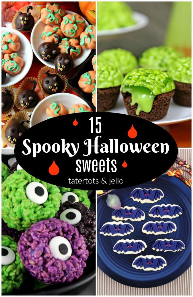 15 Spooky Halloween Sweets!
