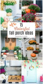 15 Bright and Colorful Fall Porch Ideas!