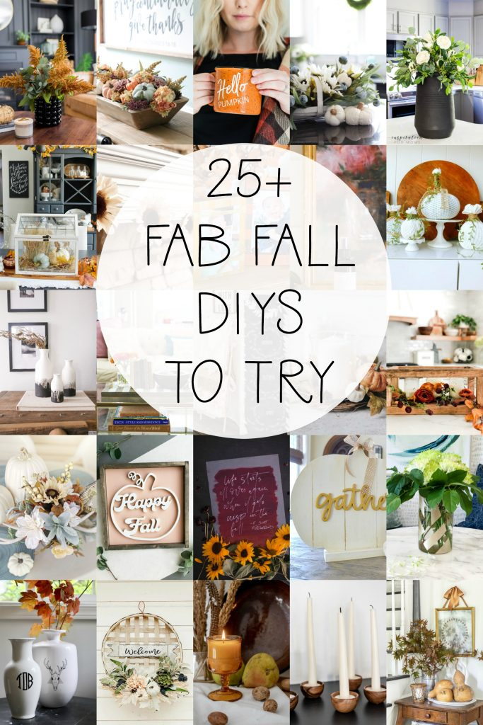 Over 25 amazing fall DIY projects to make!