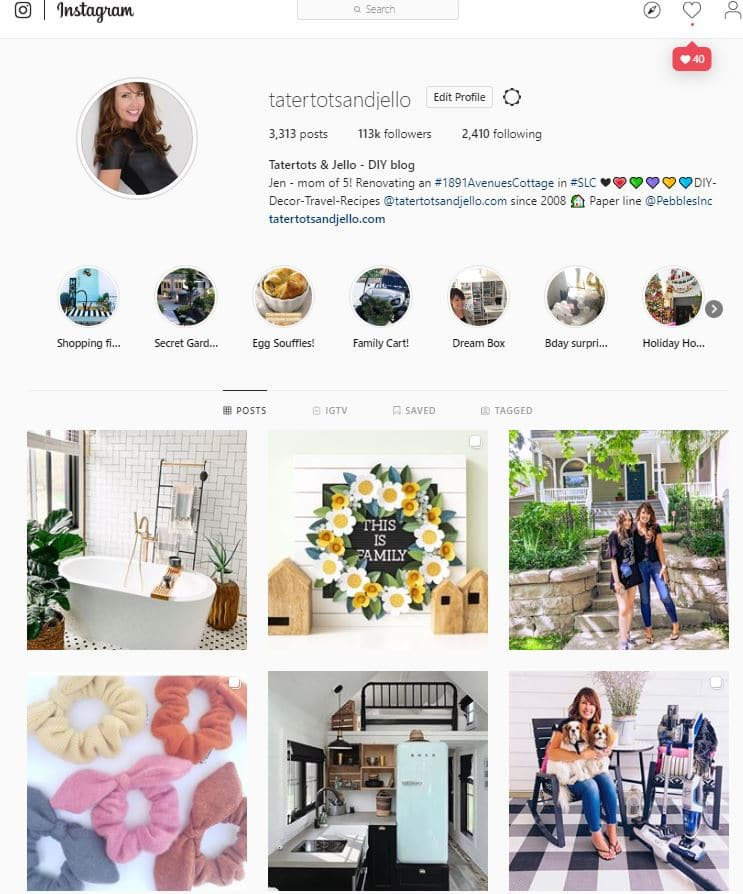 tatertots and jello on Instagram. Sharing easy DIY ideas and ways to restore an old home into a modern vintage home on a budget.