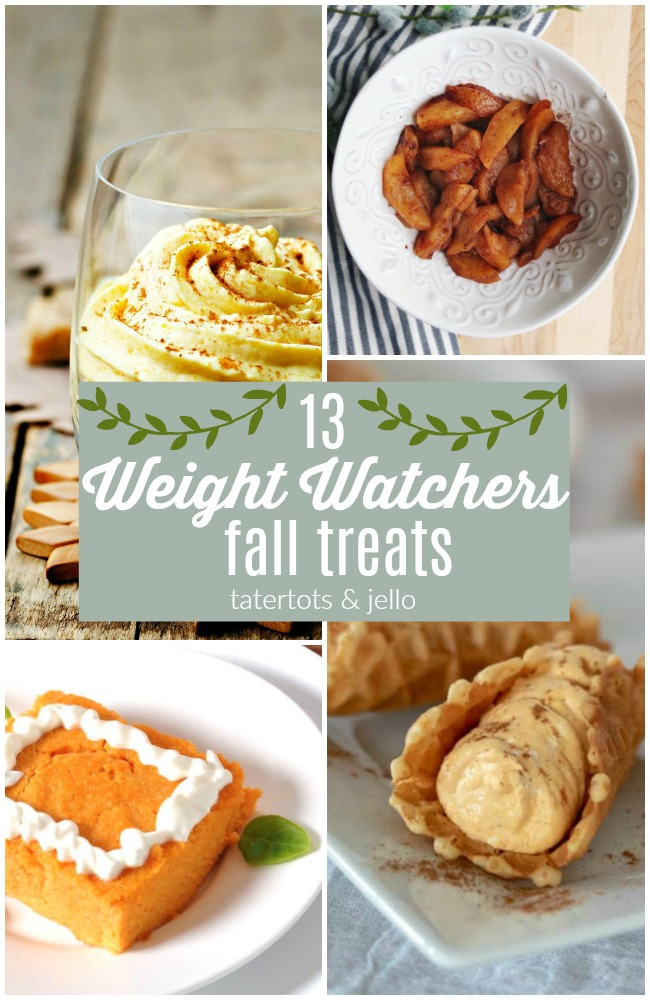 13 Weight Watchers Fall Desserts That Will Transform Your Dieting Life
