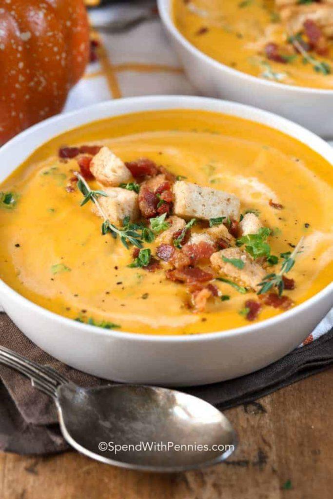 Pumpkin Soup @ Spend With Pennies