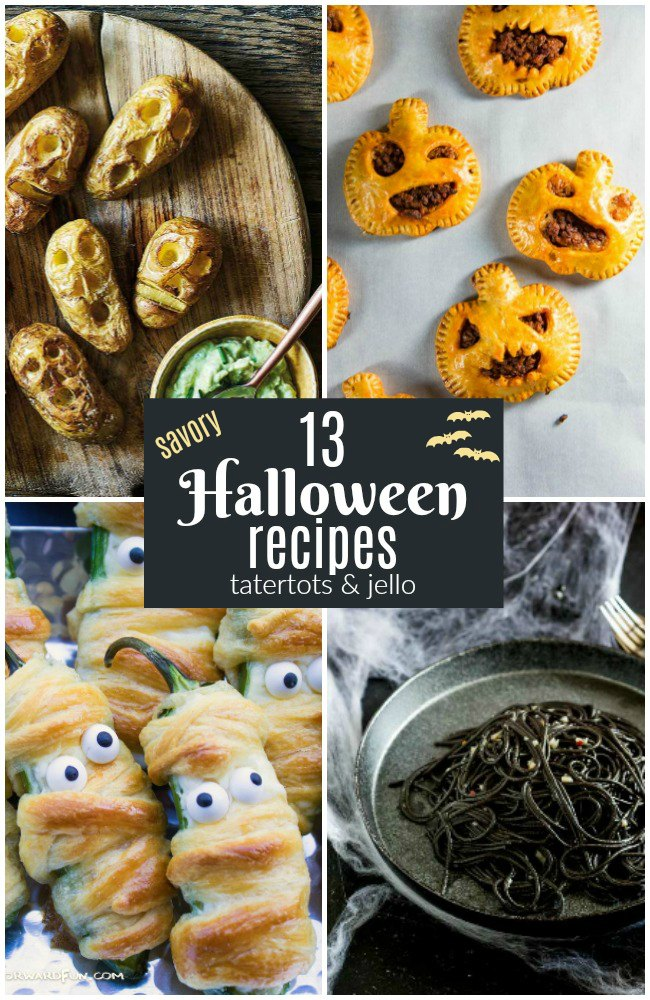 13 Delicious Savory Halloween Recipes to Make This Year!