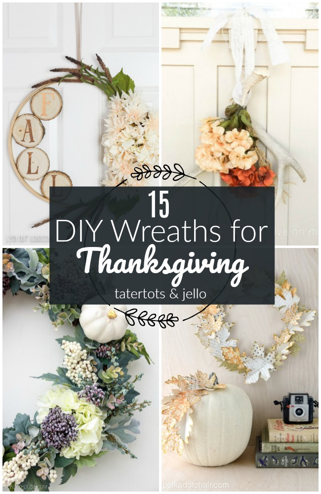 15 DIY Thanksgiving Wreaths You Can Make in Minutes!