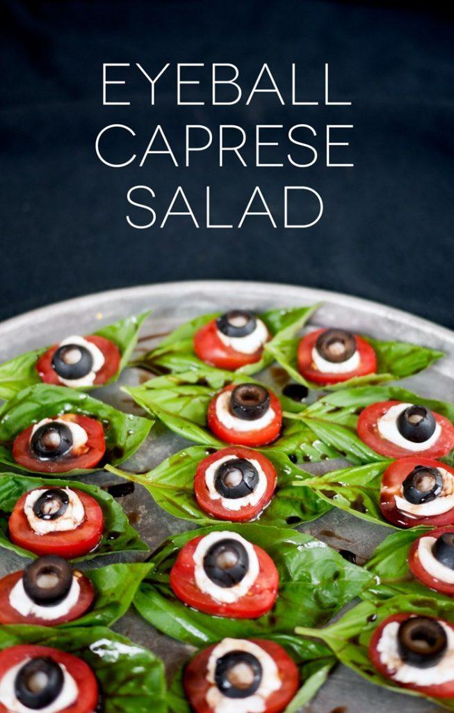 Eyeball Caprese Salad @ Ciera Design