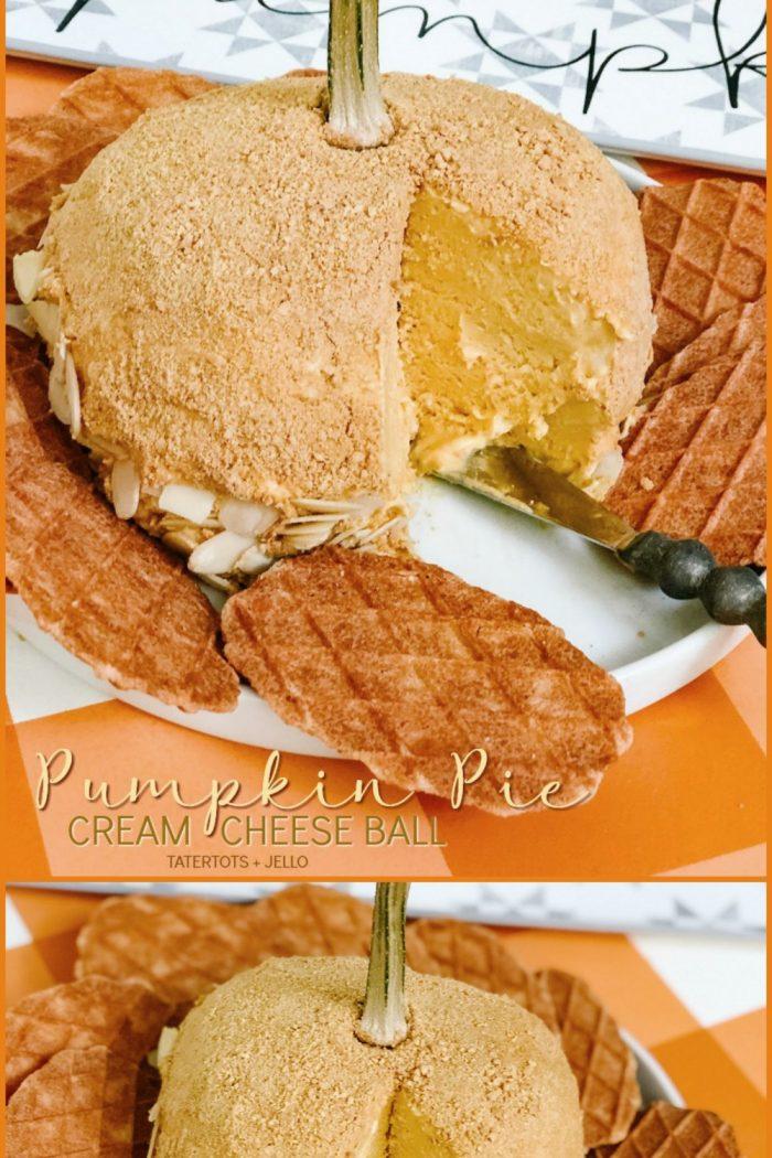 Pumpkin Pie Cream Cheese Ball Recipe