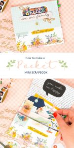 DIY Pocket Mini Scrapbook that Fits in Your Purse!