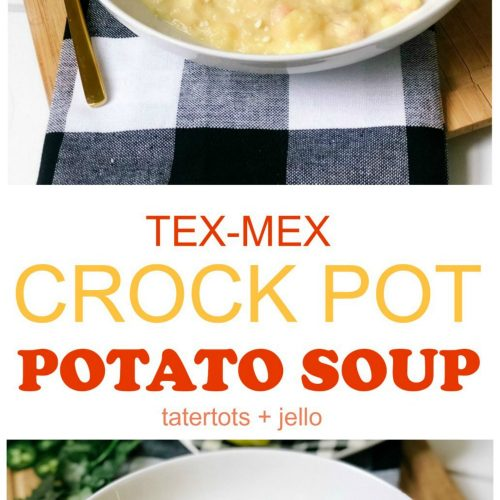 Tex-Mex Cheesy Crock-Pot Potato Soup. Put a spicy spin on cheesy potatoes with this warm and comforting recipe. It's perfect for Fall and Winter!