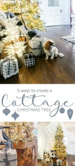 Cottage-Style Christmas Tree with Balsam Hill