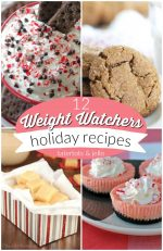 12 Weight Watchers Holiday Recipes!