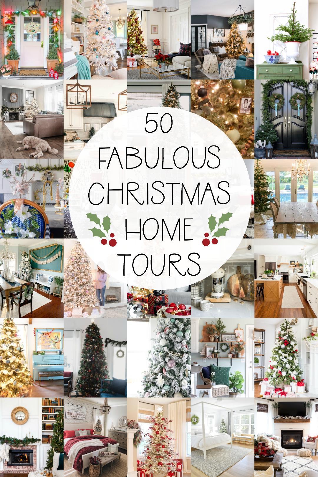 50 festive holiday home tours