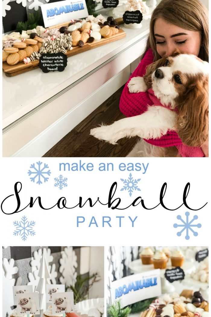 Abominable Snowball Party and Movie Night!