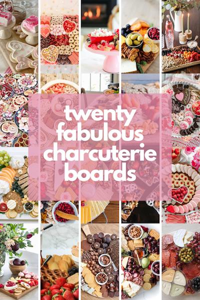 20 fabulous charcuterie board ideas!