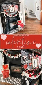 Valentine's Day Medallion Be Mine Mantel