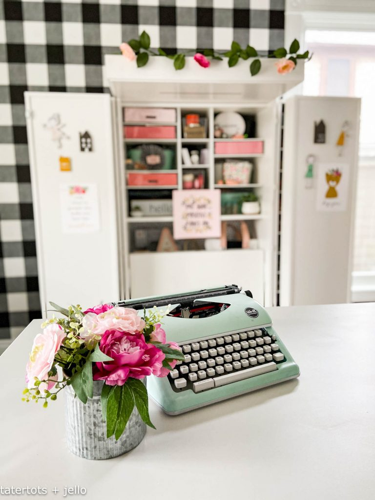 Dreambox craft storage in office