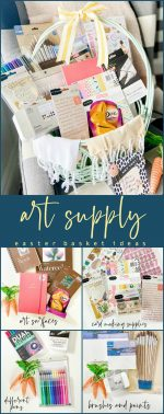 Easter Basket Ideas for the Creative Person in Your Life!