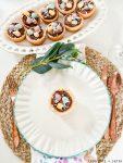 easter bird's nest cookie cups
