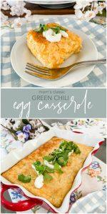 Mom's Classic Green Chili Egg Casserole