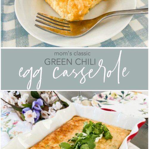 Classic Green Chili Egg Casserole