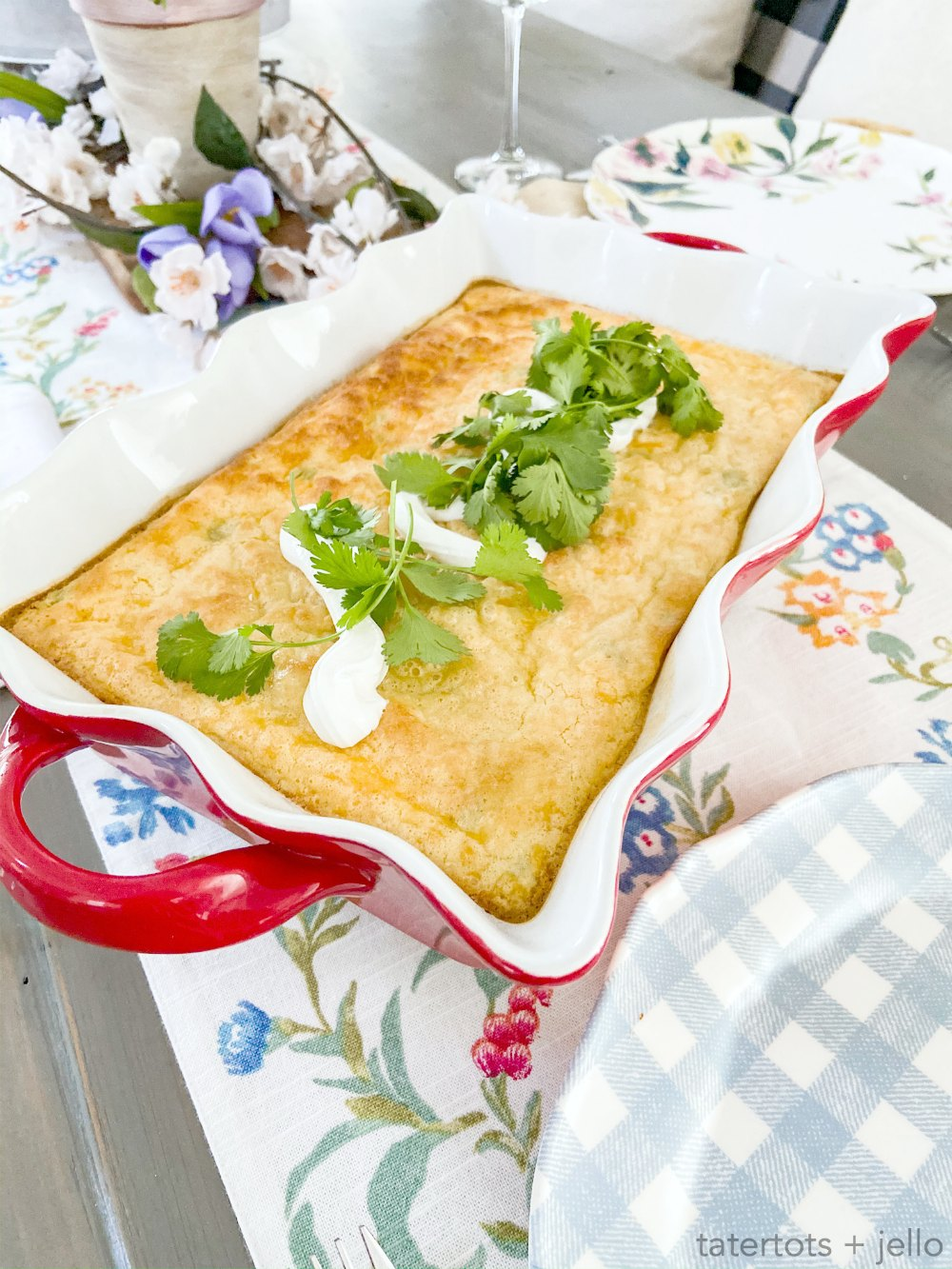 Mom's Classic Green Chili Egg Casserole. Whip up this classic, light and fluffy egg casserole with just a the perfect combination of cheese and tangy green chilis.