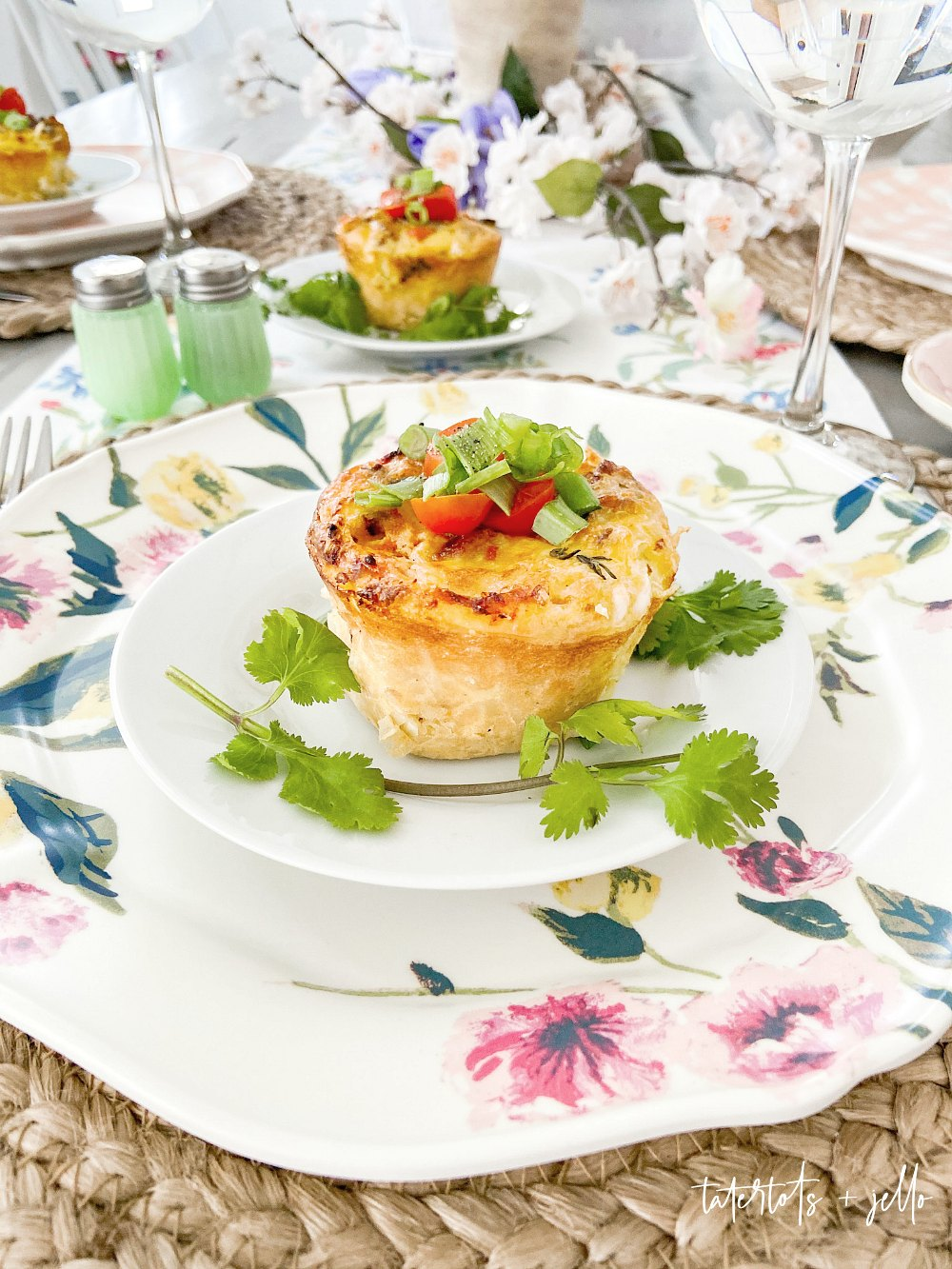 BLT Hashbrown Cups