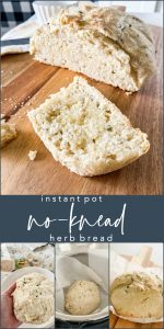 Instant Pot No-Knead Herb Bread
