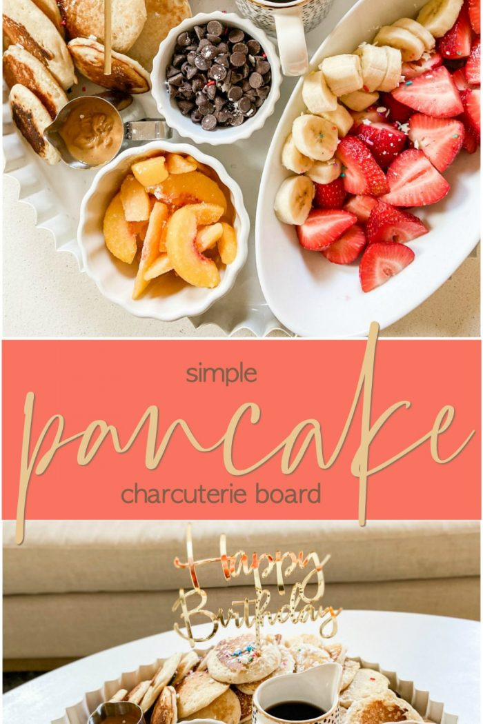 Create a Simple Pancake Charcuterie Board in Minutes!