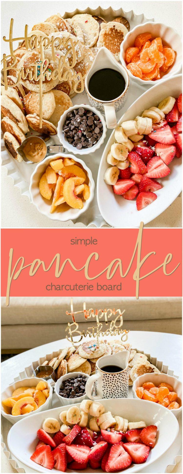 Pancake Charcuterie Breakfast Board