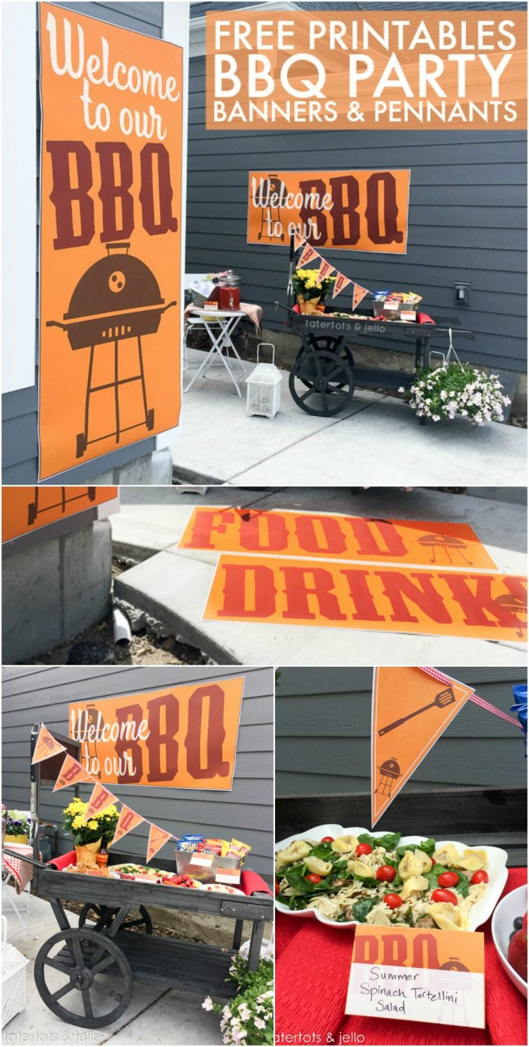 Free BBQ Large-scale printables
