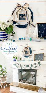 Nautical Summer Cottage Wreath