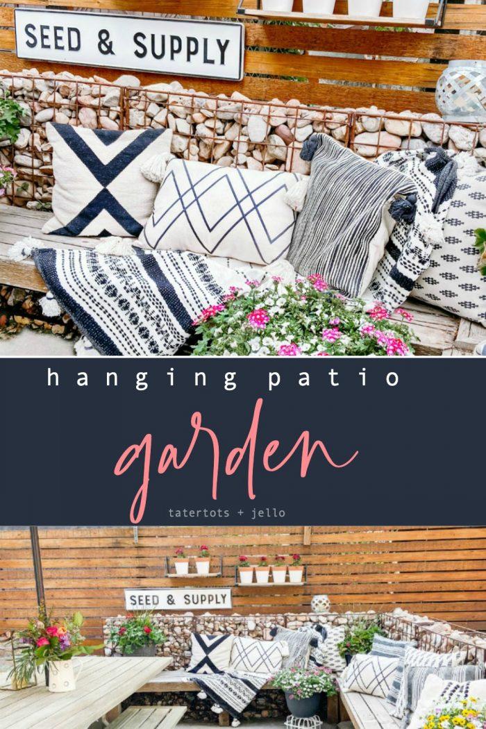 DIY Hanging Patio Garden