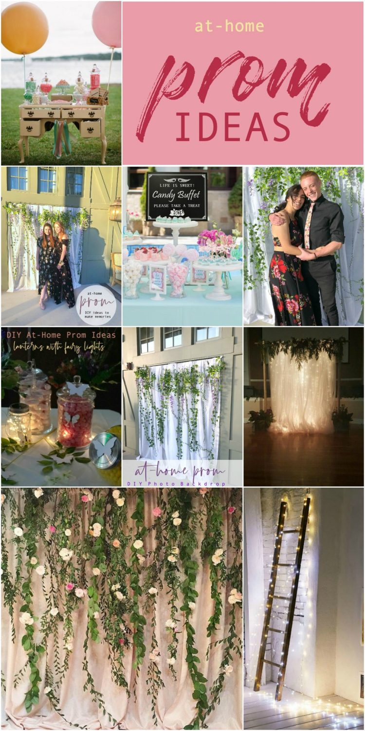 at-home prom ideas
