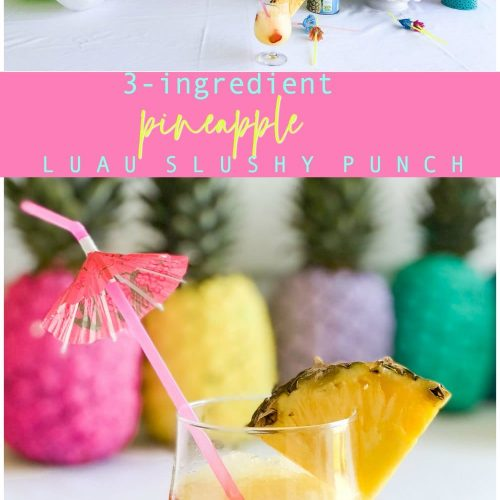 how to make 3-ingredient pineapple slush punch