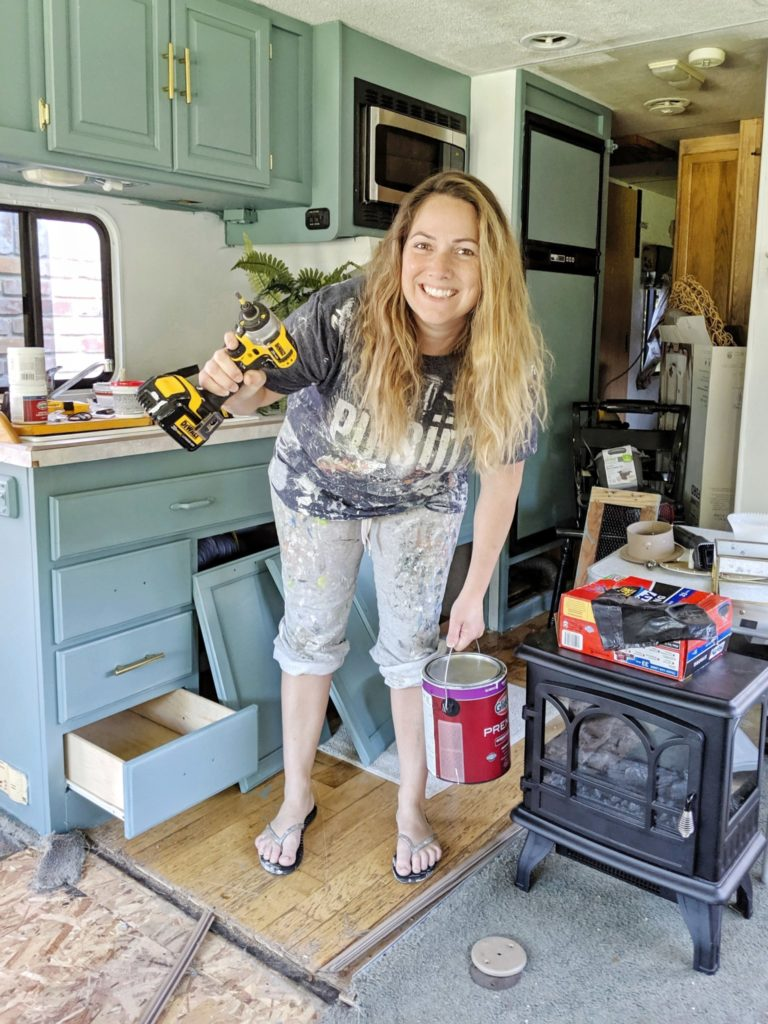 All Things with Purpose blog. RV makeovers.