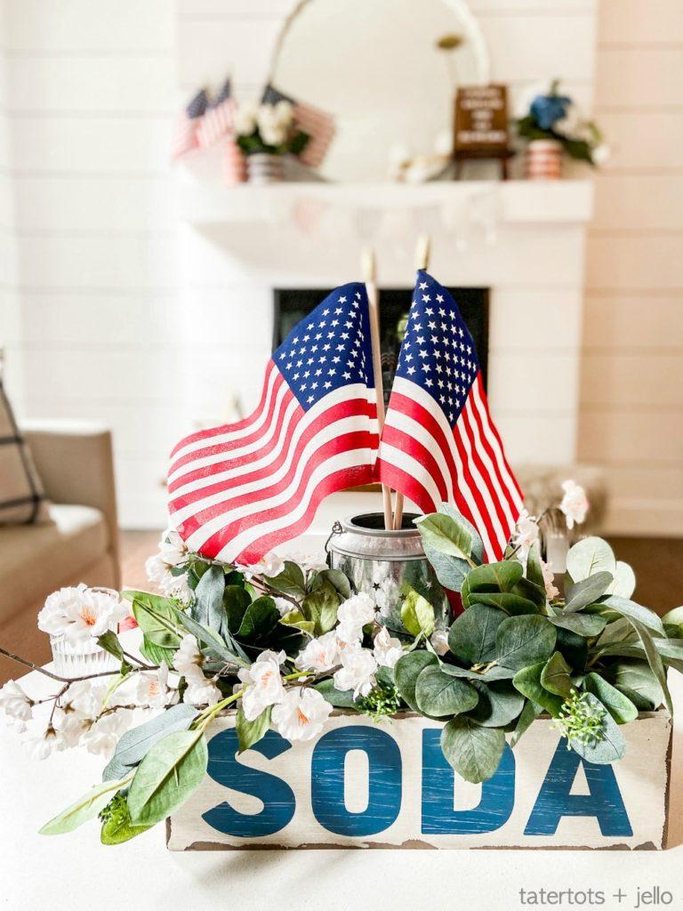 Fourth of July Centerpiece Idea