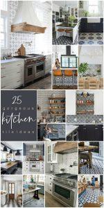 25 Gorgeous Modern Farmhouse and Cottage Kitchen Tile Ideas