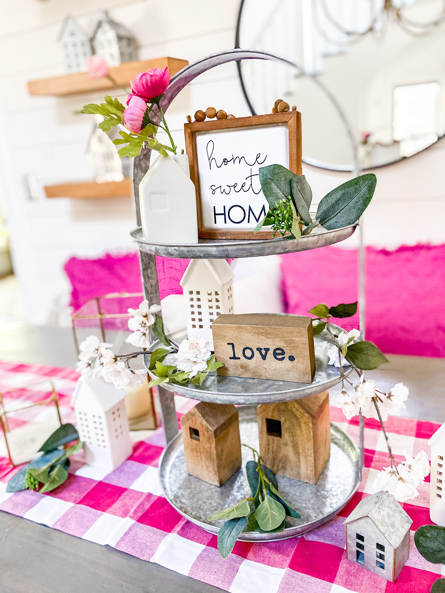 Ways to Bring Color to Your Cottage or Farmhouse Home. Add some bright color this summer to your home with these easy ideas!