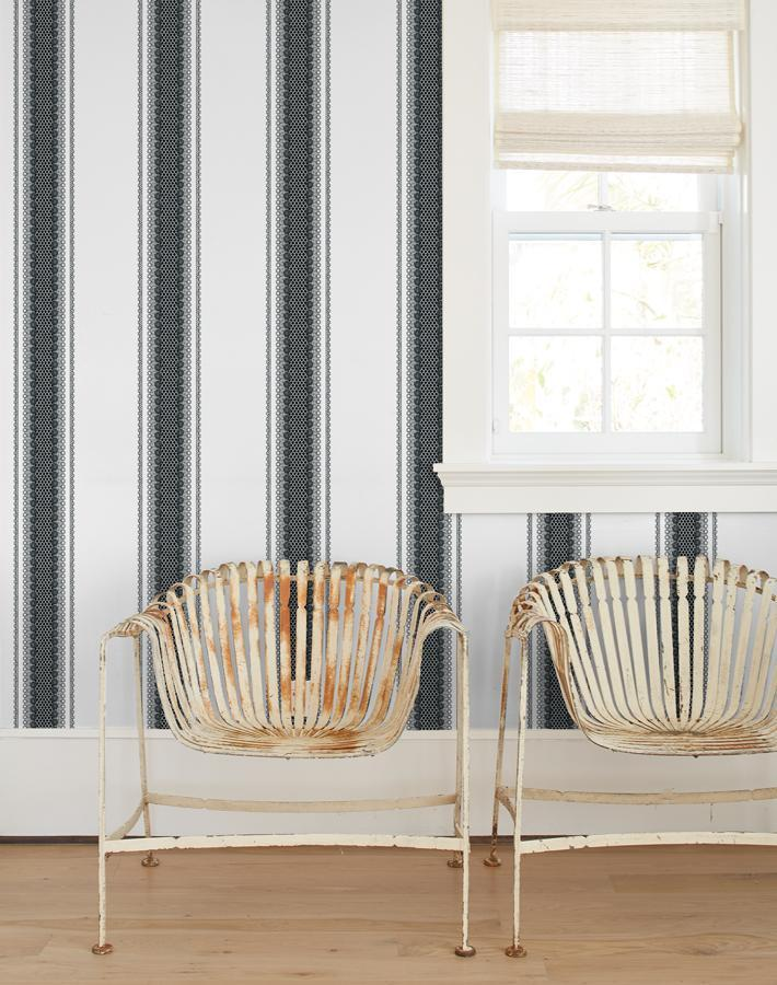 Lacefront White Removable Wallpaper at Wallshoppe