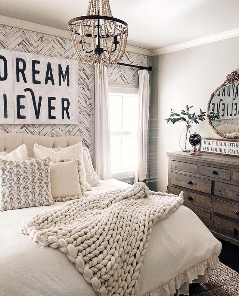 Rocky Mountain Decals Herringbone Removable Wallpaper via She Gave it a Go