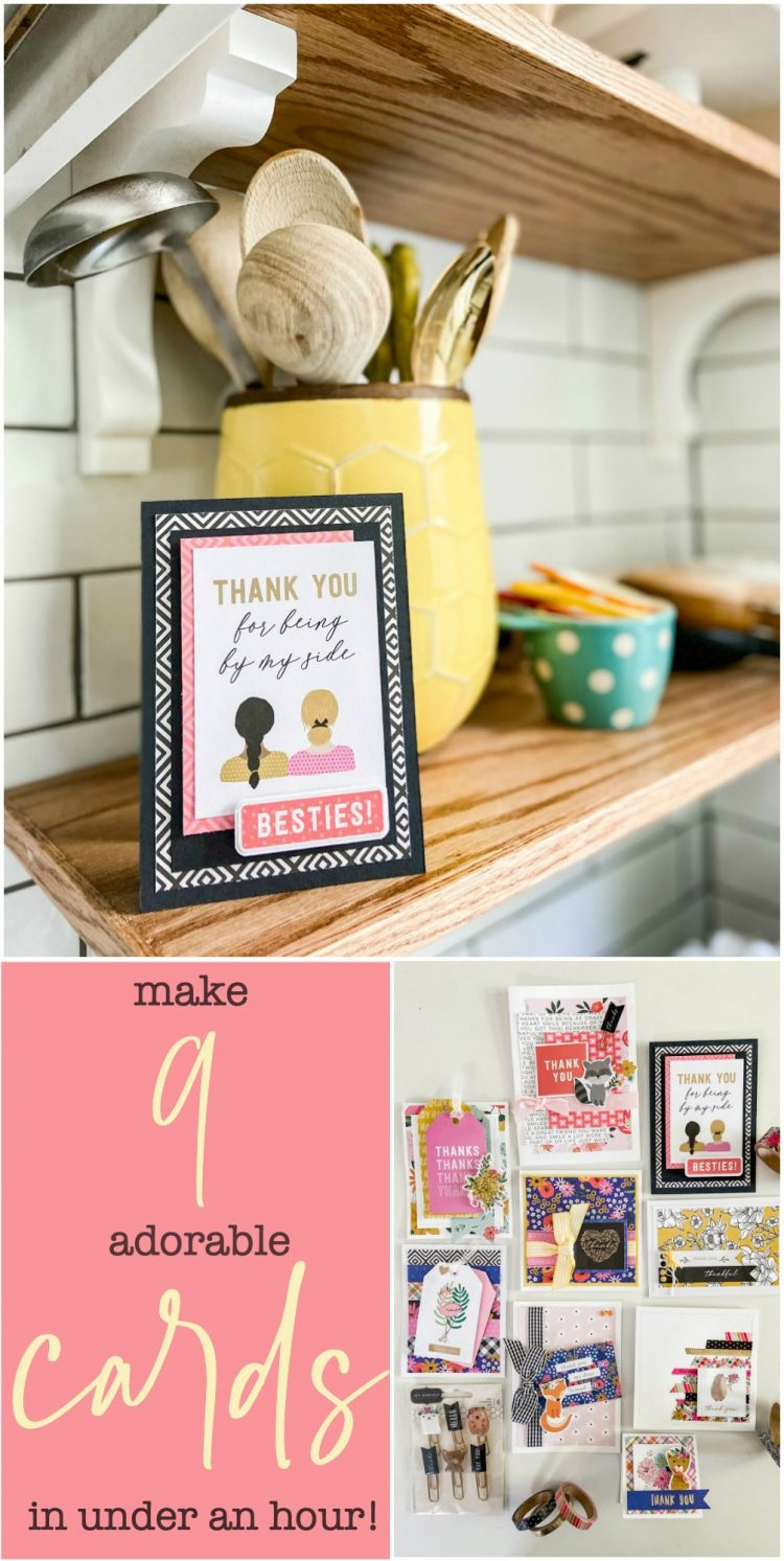 Make 9 Adorable Cards in Under an Hour