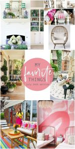 Favorite Things of the Week: Colorful Home Tour & More!