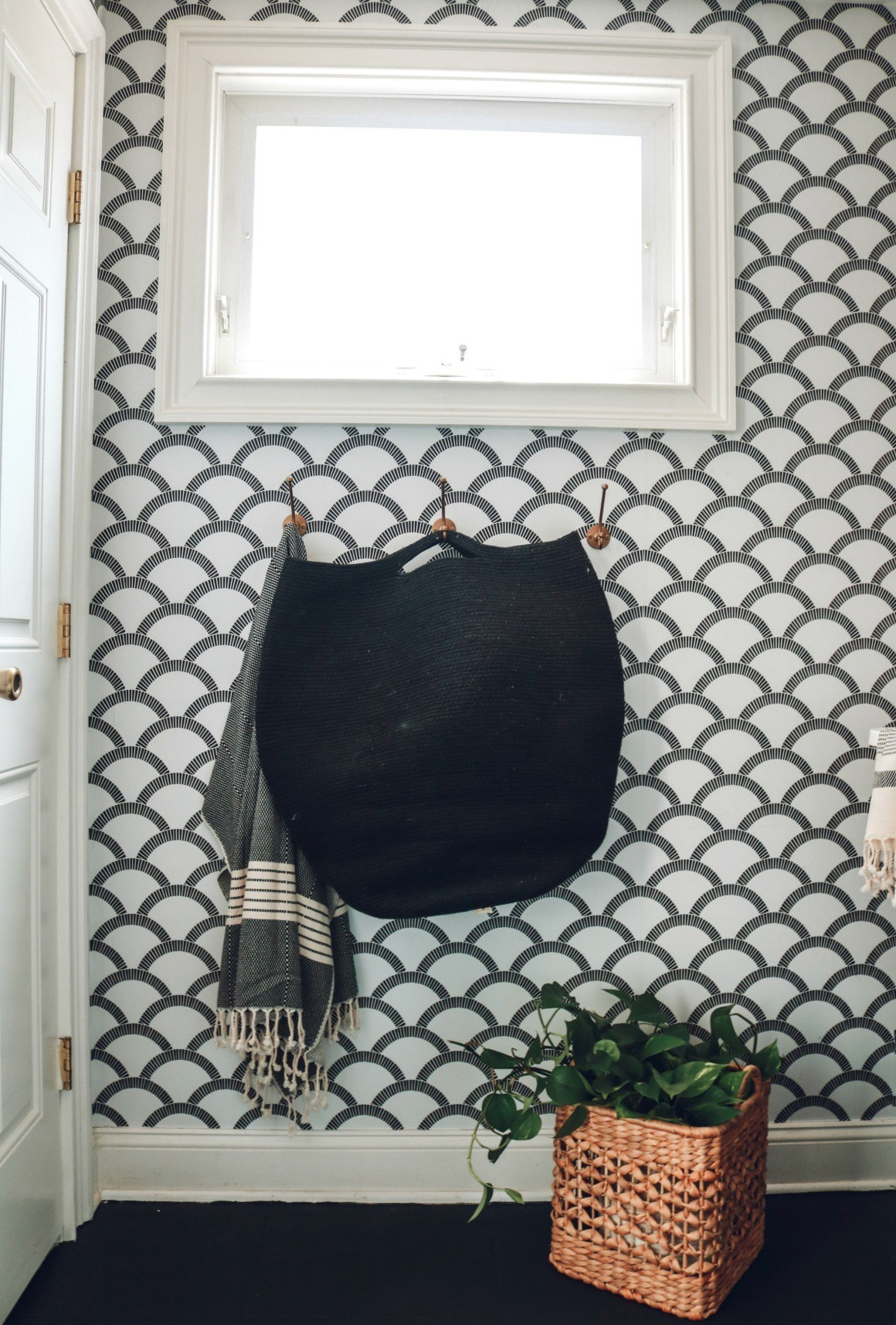 Nesting with Grace Removable Wallpaper with Tempaper